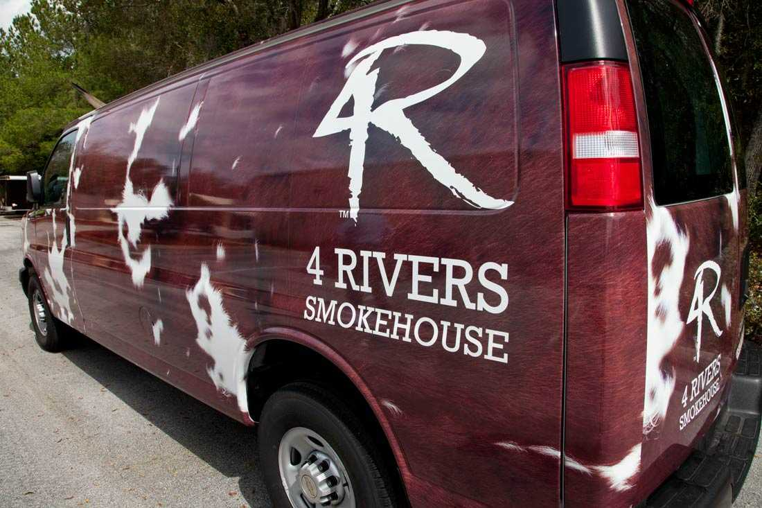 4Rivers Vehicle Wrap