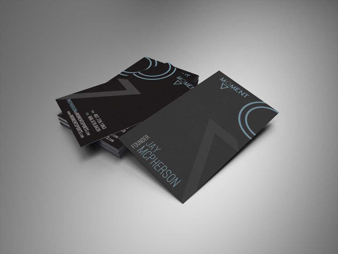 Moment business card and stationery