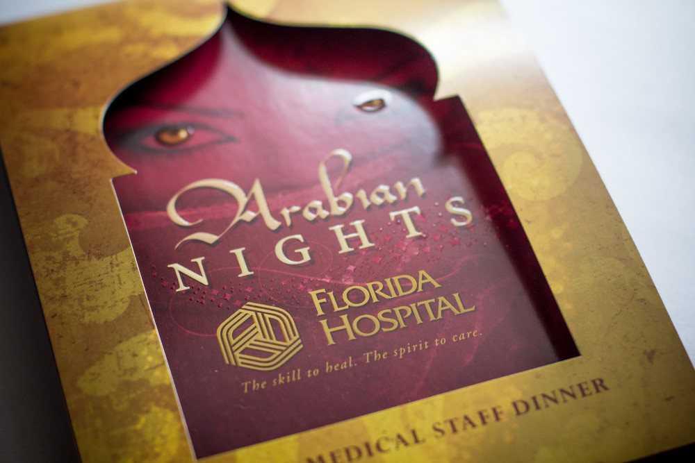 Florida Hospital Gala Invite