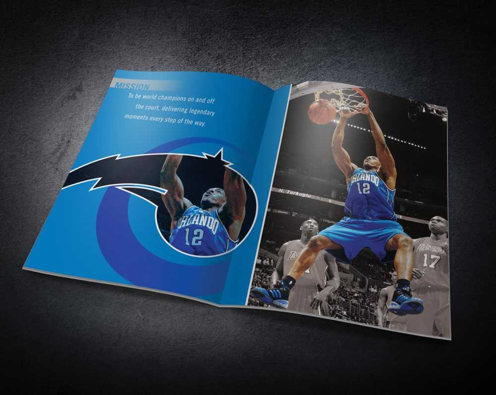 Orlando Magic - Inside booklet