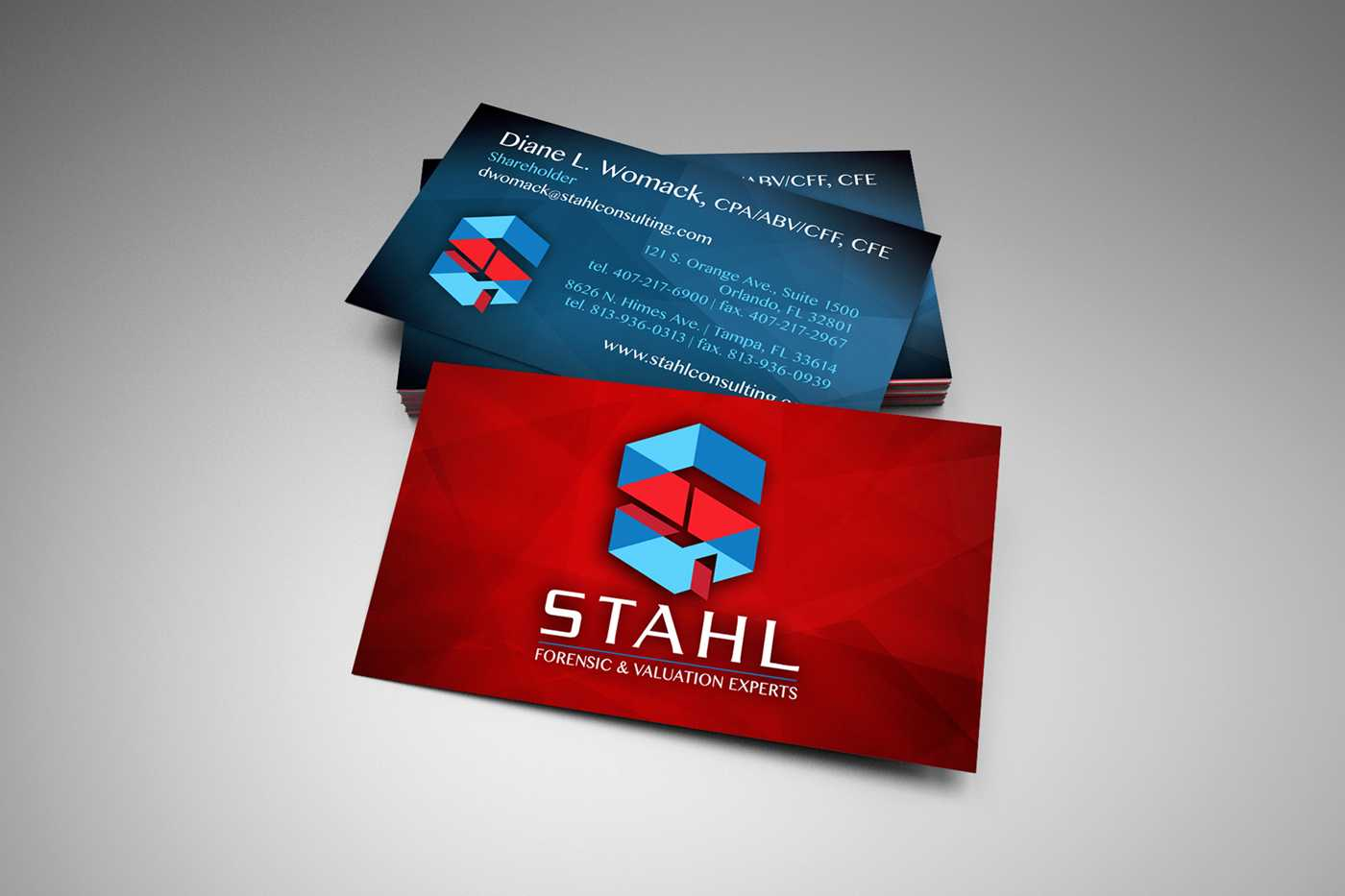 Stahl stationery design and printing 2
