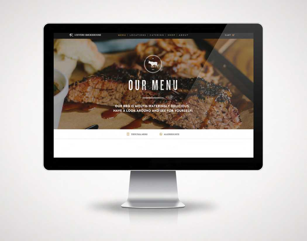 4Rivers Website Design