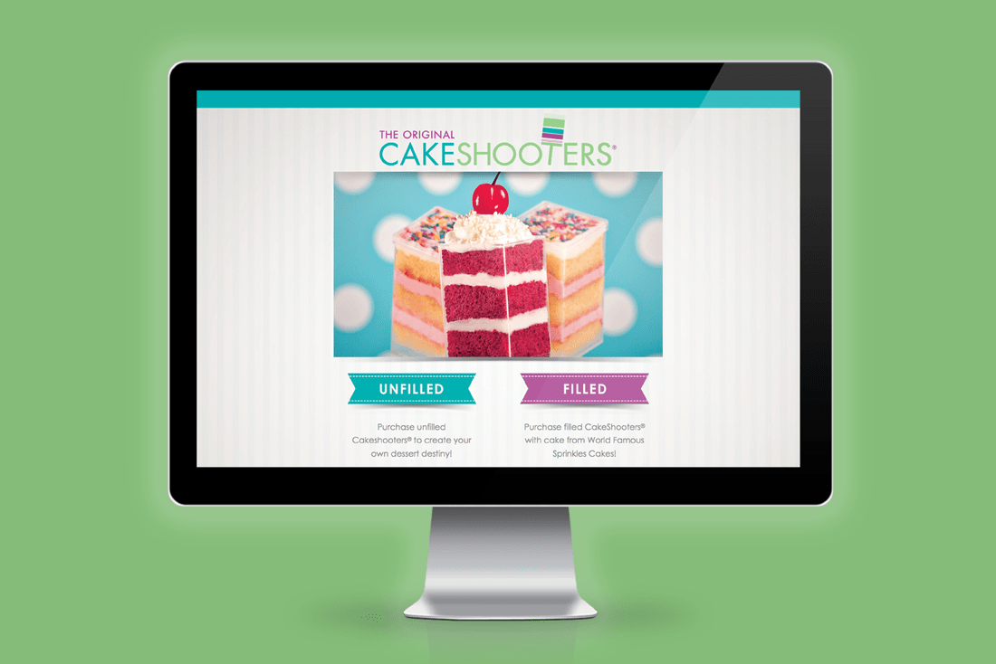 Cakeshooters® website