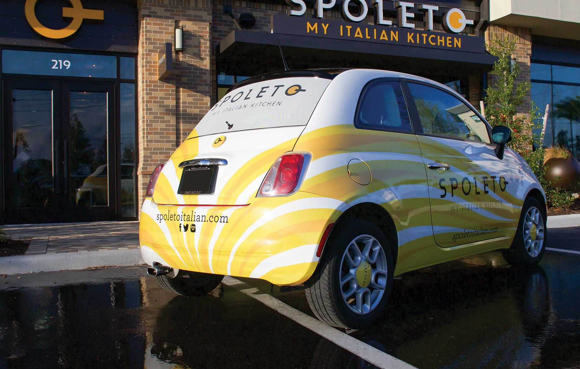 Spoletto Car Wrap