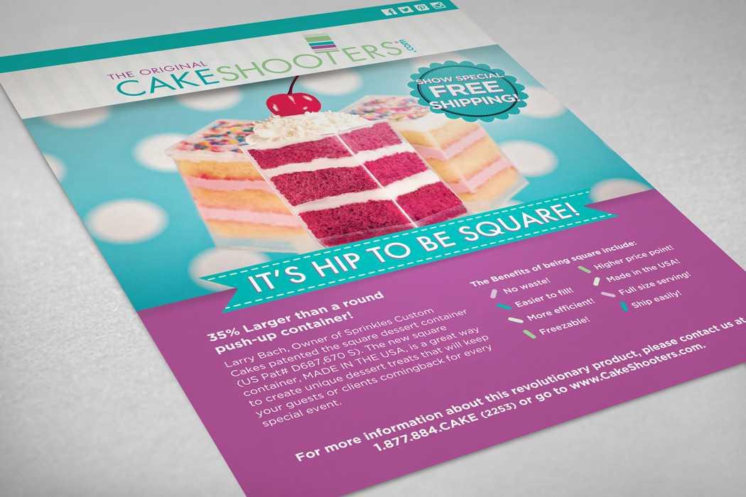 Cakeshooters® Brochure