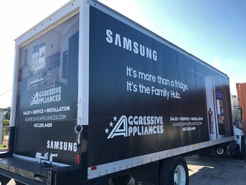 Aggressive Appliances - box truck