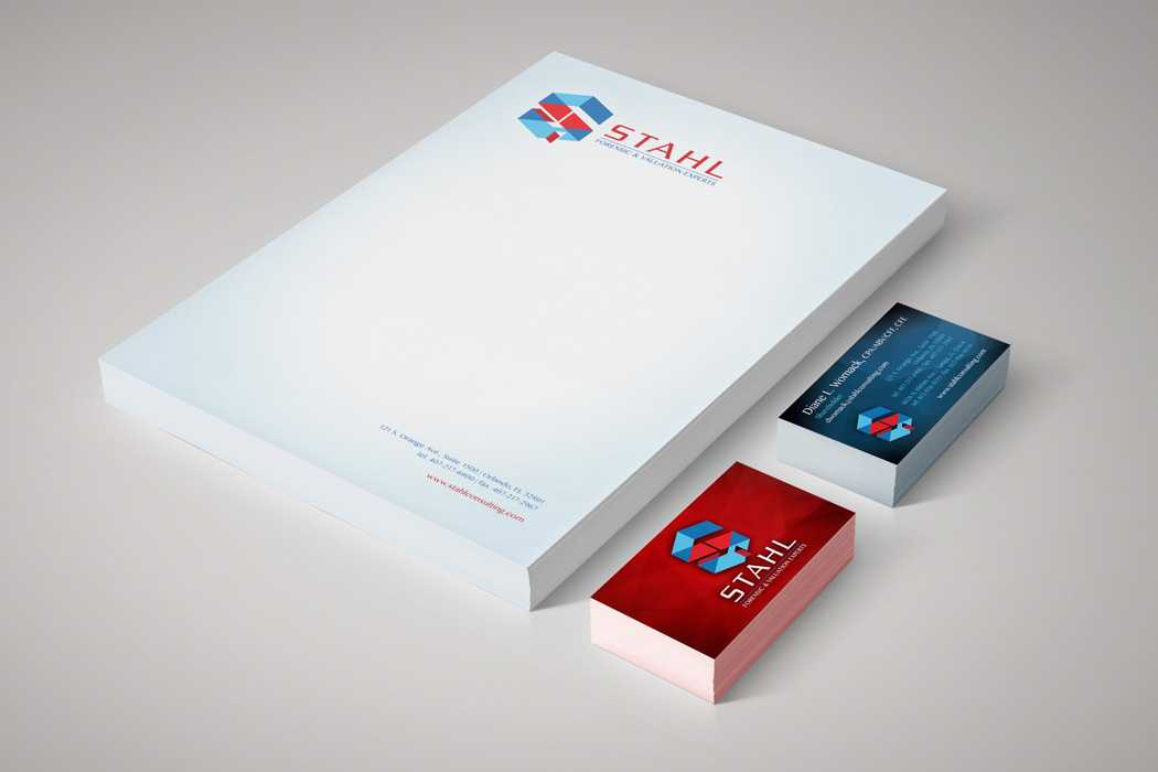 LettStahl stationery design and printing