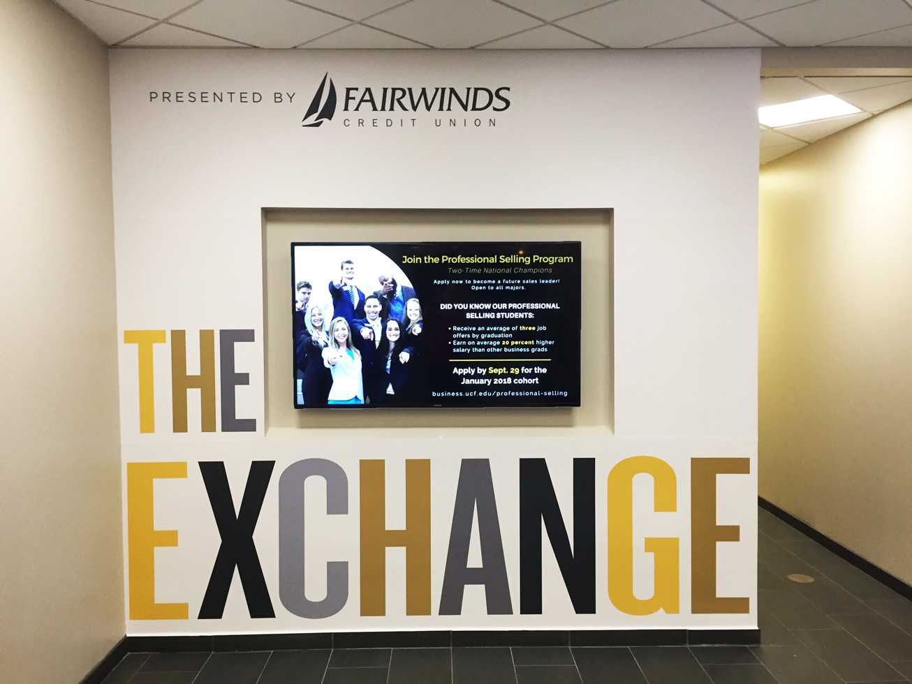 UCF EXCHANGE Wall