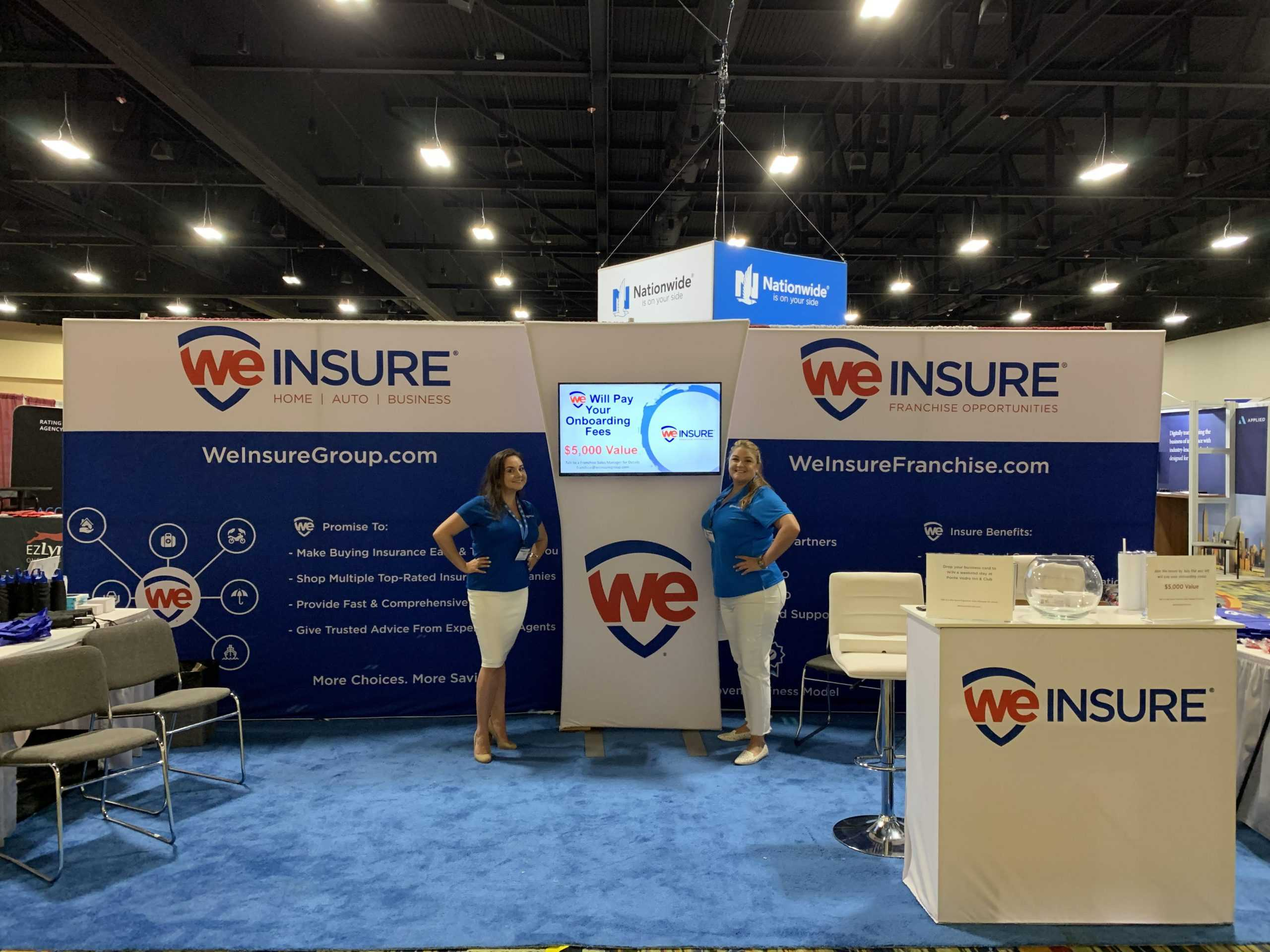 We Insure Tradeshow Booth