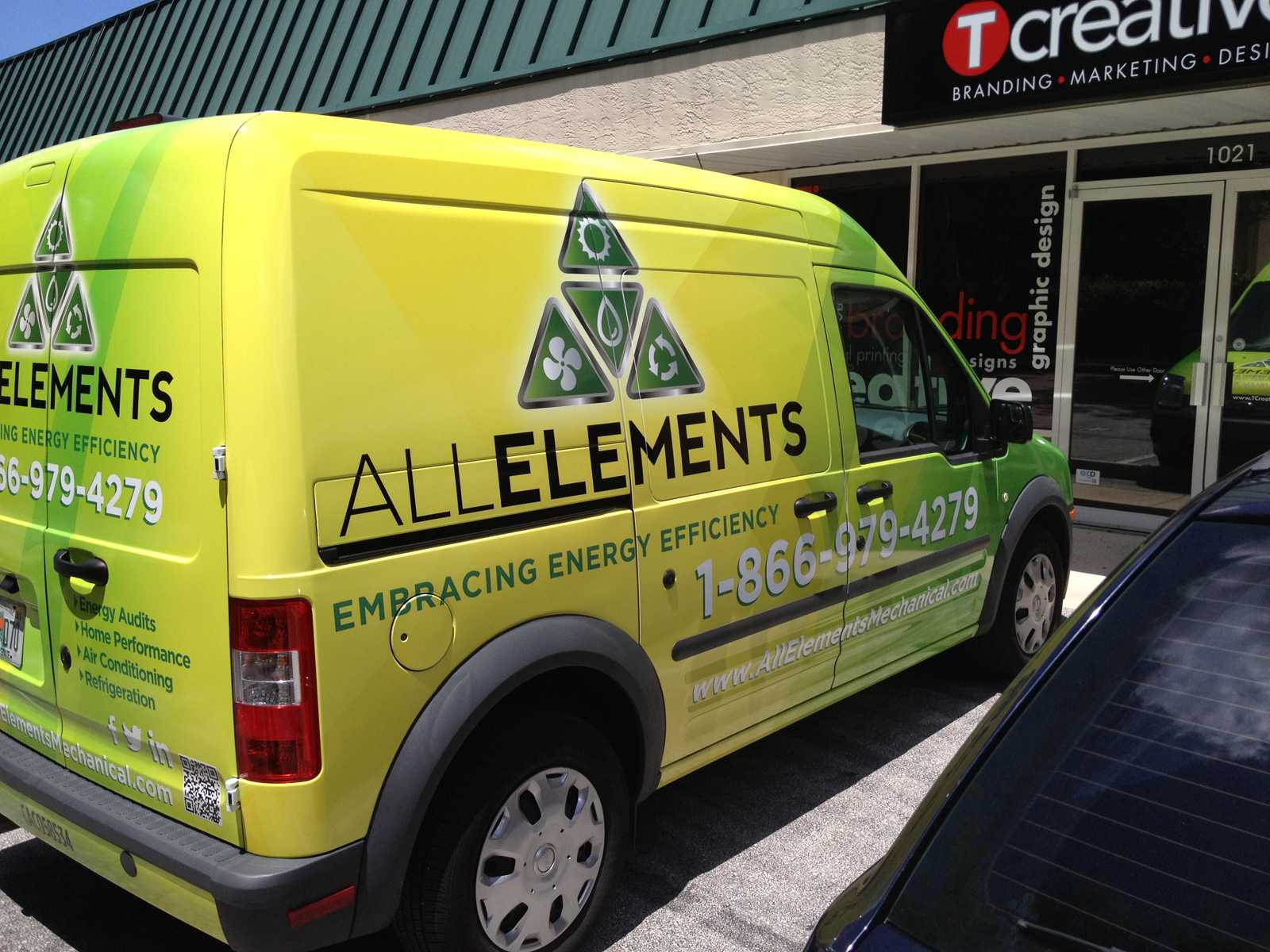 All Elements Van Wrap