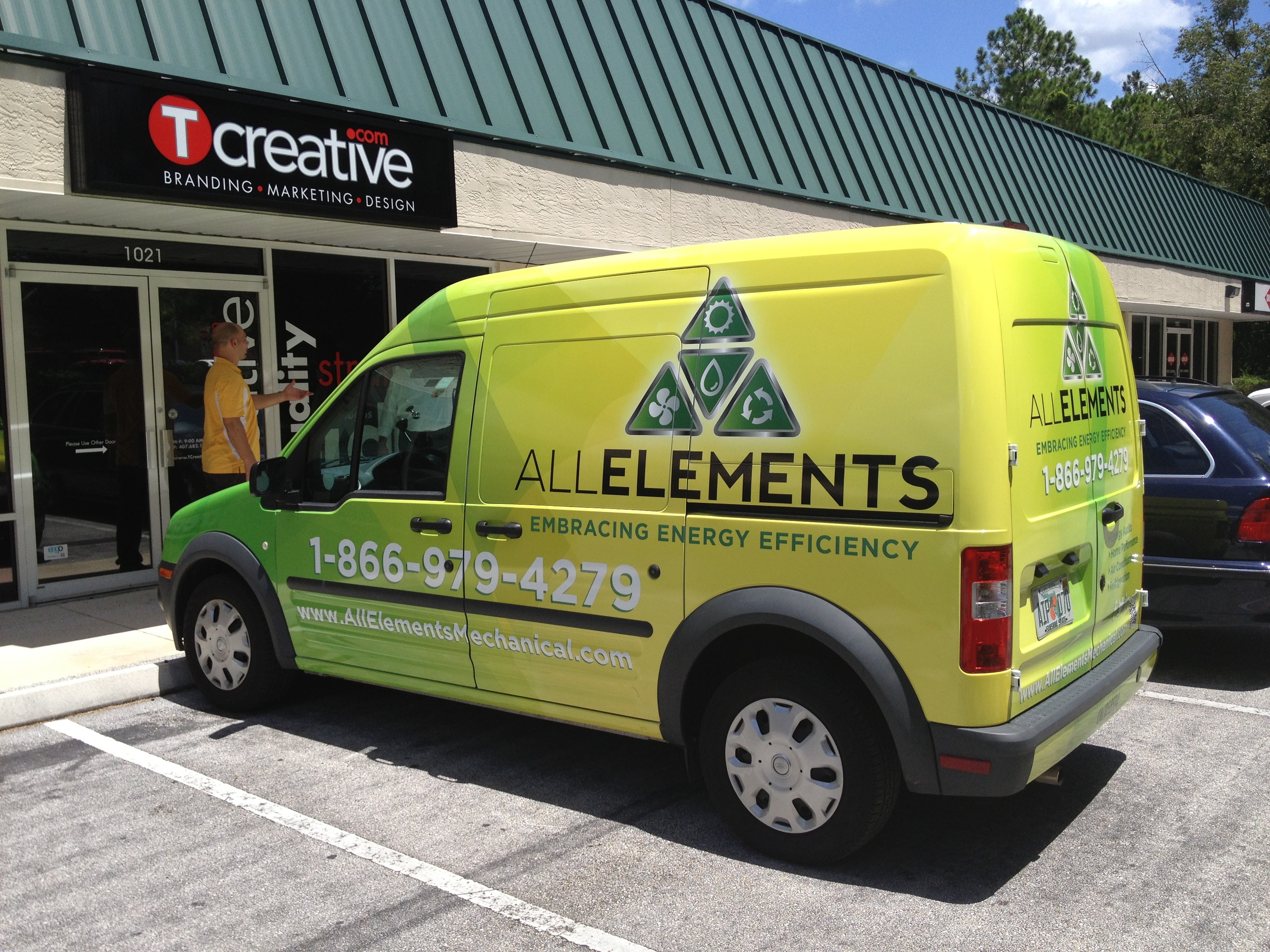 All Elements Van Wrap 2