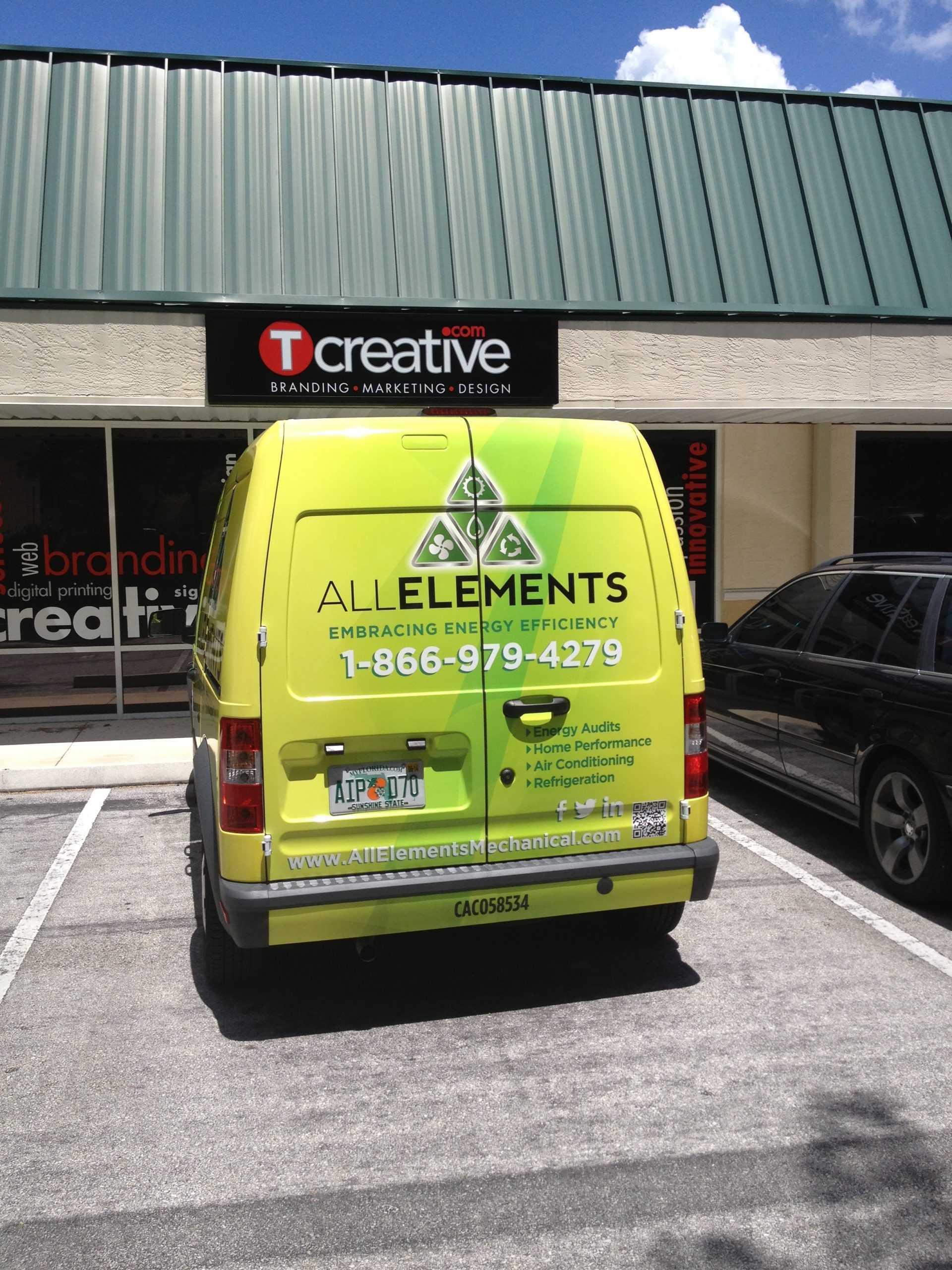 All Elements Van Wrap 3
