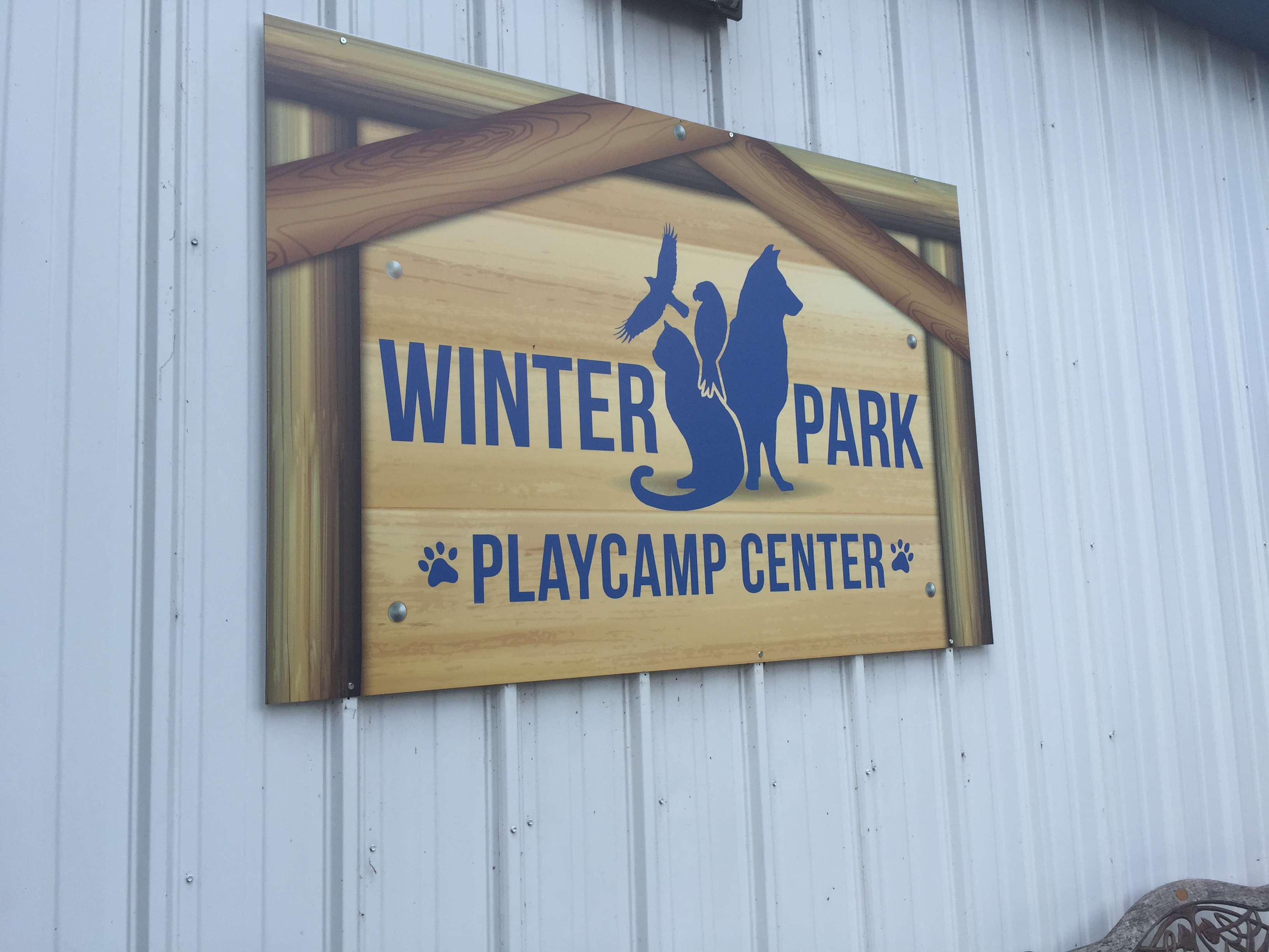 Winter Park Playcamp Sign