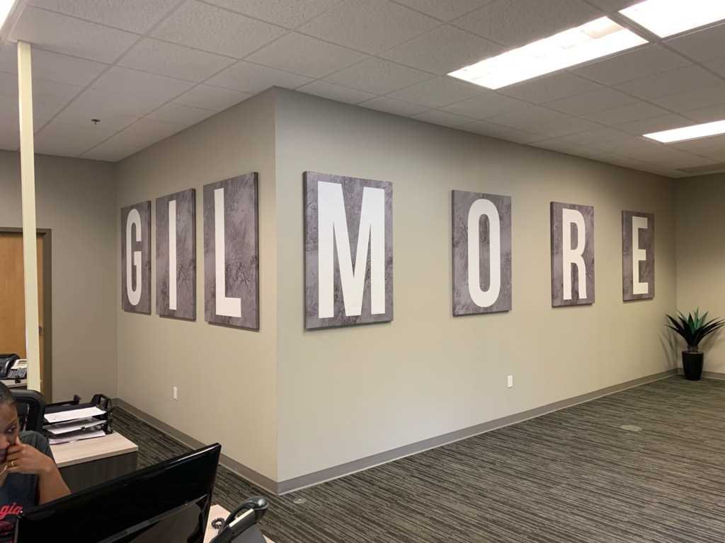 Gilmore Text Wall Art