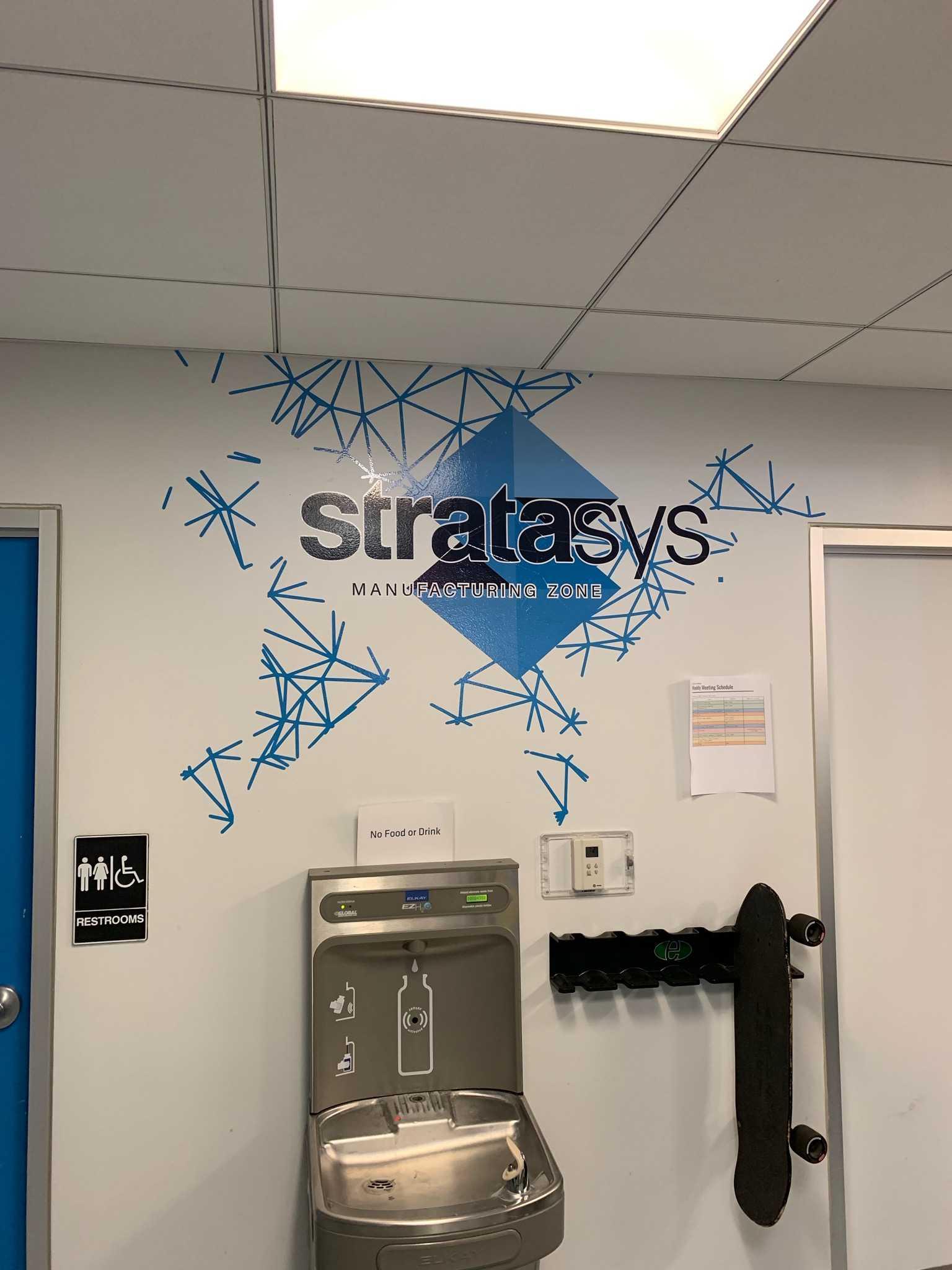 Stratasys Wall Vinyl
