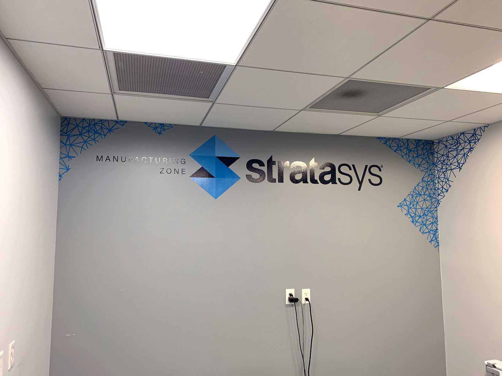 Stratasys Wall Vinyl 2